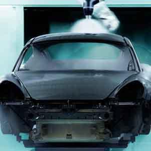 Filtros de aire para la industria de automoción y cabinas de pintado